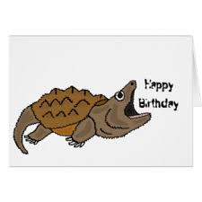 funny turtle birthday greeting cards zazzle