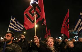 Golden Dawn Flag The Far Right Is A Growing Threat In Greece The Nation