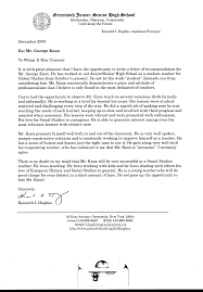 best ideas of character recommendation letter for high