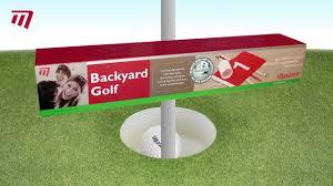 masters golf backyard golf set pe057 youtube