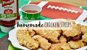 homemade big game chicken strips recipe brie brie blooms