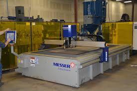 used plasma cutting table used 2012 mg messer edgemax 6 x12 high definition plasma cutting