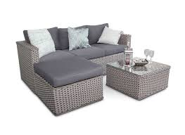 rattan corner sofa bahamas rattan 3 seater outdoor sofa set 5pc grey whitewash