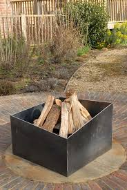 Contemporary Firepit Basalt Pit A Modern Firepit In 5mm Steel This Will Develop A