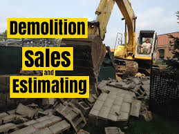how to do landscaping demolition meeting with a potential customer