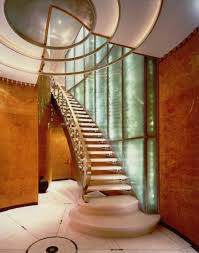 inside decor and design amazing straight glass stairs with cool glass banister lateral