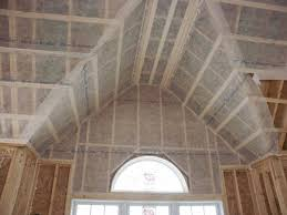 Insulating Vaulted Ceilings by County Line Insulation And Garage Doors Image Zooming Galleries