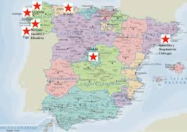 Vigo Spain Map by Meditation From Barcelona City To Galician Villages Peace Blog