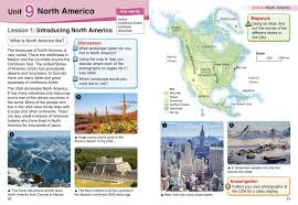 Pyramids In America Map by Collins Primary Geography Pupil Book 4 Colin Bridge Stephen