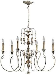 White Chandelier With Shades Quorum International 6006 6 70 Chandeliers With Shades Persian