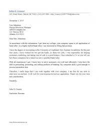 best cover letter for bank teller bank teller resum