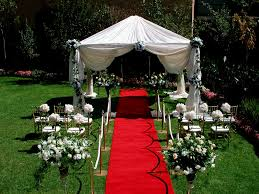 backyard wedding decoration ideas house design and planning