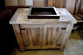 Reclaimed Wood Vanity Table Rustic Reclaimed Wood Vanity In Milton Blog