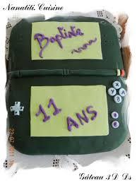 jeux de cuisine de gateaux d anniversaire gâteau 3d la ds le de nanatiti