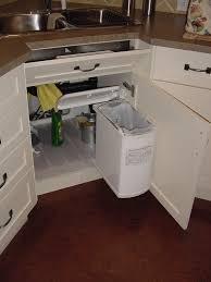 kitchen cabinet trash can pull out under sink trash can slide best sink decoration