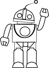 robot coloring ngbasic