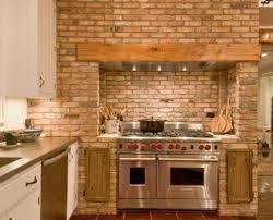 kitchen rustic kitchen brick wall rustic kitchen brick wall