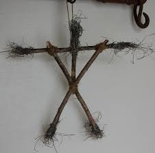 blair witch twiggy doll fun to suspend from trees in your hard