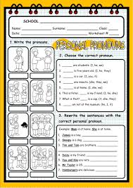 Personal And Possessive Pronouns Worksheet Personal Pronouns Interactive Worksheet