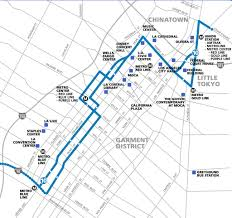 Metrolink Los Angeles Map by Big Blue Bus Maplets