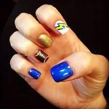 devilishdesigns san diego chargers nail nails nailart sports