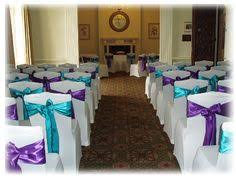 Purple Chair Covers Instead Of A Full Chair Cover Which Gets In The Way Do An Elegant