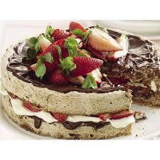 choc hazelnut meringue cake recipe cakes desserts and meringue