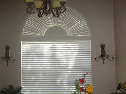 scenic arch shaped window by for arch shaped window by blind