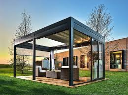 glass gazebo modern designs mon jardin pinterest glass