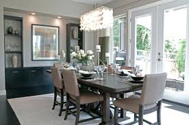 chic contemporary dining room decorating ideas gallery images