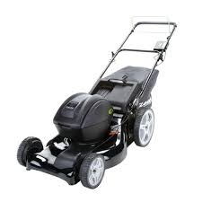 riding lawn mower sears ego 56v battery 52cm self propelled lawn
