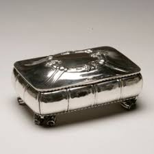 Silver Keepsake Box Georg Jensen 830 Silver Extra Large Keepsake Box No 58 Georg