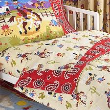 Cowboy Bed Sets Ride Em Cowboy 4pc Horses Bedding Set Toddler Western Boys Bed
