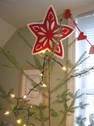 12 days of cheer scandinavian star tree topper nifty