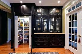 black cabinet with glass doors kitchen pantry cabinet with doors modern pantry cabinet kitchen