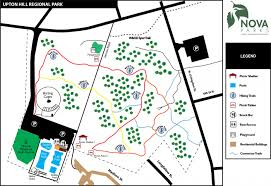 Virginia Map Showing Attractions Amp Accommodation by Upton Hill Regional Park Nova Parks