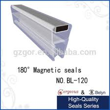 Seal Shower Door Bl120 Silicone Magnetic Shower Door Seal View Silicone