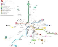 Map Of Rome Italy by Map Of Rome Transport Rome Subway Map Rome Metro Map