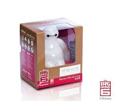 big hero 6 baymax usb led nightlight japan amazon com