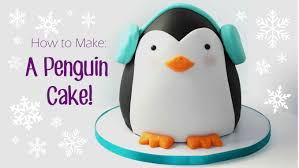 how to make a penguin cake youtube