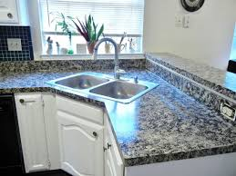 How To Paint Faux Granite - faux finish granite countertops in 8 easy steps u2022 the budget decorator