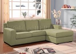 Reversible Sectional Sofas 05915 Vogue Sage Microfiber Reversible Sectional Sofa By Acme