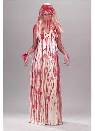 Bloody Costumes Halloween Women U0027s Bloody Prom Nightmare Costume Scary Costumes
