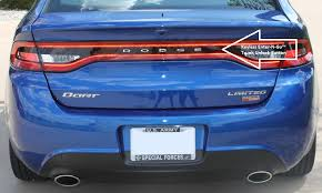 2013 dodge dart tail lights tail light thread installs questions and answers merged threads