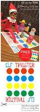 elf on the shelf ideas elf twister printable