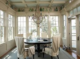 Sunroom Dining Room Ideas Dining Room Amusing Design Ideas For Sunroom With Brown Wood And