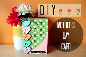 diy easy mother u0027s day card i simple u0026 cute youtube