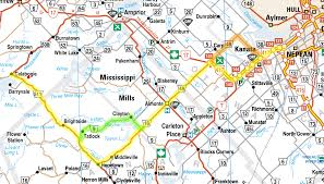 Map Of Ottawa Motorcycle Route Ottawa To Calabogie U2013 The Blog Formerly Known As