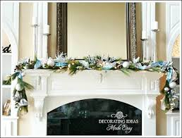 Fireplace Decorating Ideas For Your Home White Christmas Decorating Ideas For Your Home