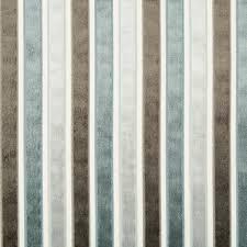 Upholstery Fabric St Louis Grey Velvet Stripe Upholstery Fabric Blue And By Popdecorfabrics